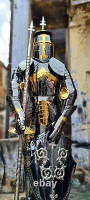 Medieval Wearable Armor Stainless Steel Rust Free Full Body Suit Wearable Knight