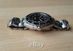 Men's Vintage Full Size Omega Seamaster Professional Quartz Wrist Watch