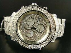 Mens 19.25 Ct Full Joe Rodeo Junior Diamond Watch JJU36
