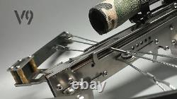Mini Shooting Toy V9 Made Full Stainless Steel Plays for Garden Game