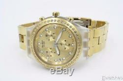 New Swatch Gold Full-Blooded ONE THOUSAND AND ONE Chronograph Watch SVCK4084G
