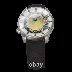 OVD Full Moon Walker Steel MW-001 Automatic Men's Microbrand Watch Sapphire New
