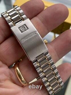 Omega 1993 Speedmaster Men's 18K Gold Full Set Automatic vintage watch + Box