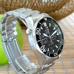 Omega Seamaster 300M Diver Chronograph Full Set Black 2594.52 INTL SHIPPING