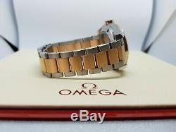 Omega Seamaster Aqua Terra 231.20.39.21.06.001 18K Rose Gold & Steel Full Set