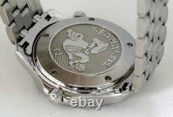 Omega Seamaster Full Size Co-Axial Automatic Watch Navy Ceramic Bezel (2016)