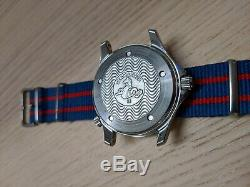 Omega Seamaster large 41mm full size automatic watch 2532.20 RARE White Dial
