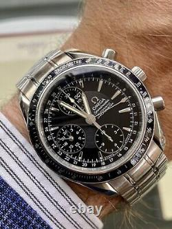 Omega Speedmaster Black Dial Men's Automatic Triple date watch Full Set papers