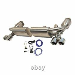 Porsche 911 997 Turbo 3 Inch Sports Valved Full Exhaust inc. Tips, Sports Cats