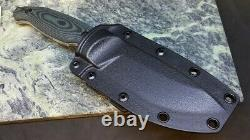 RUIKE Jager F118 Green Handle Stone washed Fixed Blade Knife With Sheath