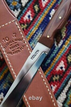 Randall Made Knives Knife Model 10-7 Saltwater Filet Utility Sheath 1 Case