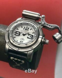 Retrowerk German Diver R-006 Swiss ETA 2824 Automatic 44mm Full Lume Dial