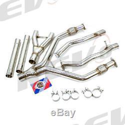 Rev9 Flowmaxx Cat Back Stainless Exhaust Full Kit For 16-19 Infiniti Q50 V6 3.0l