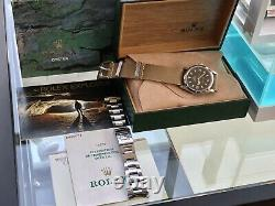 Rolex Oyster Perpetual EXPLORER 1999 14270 Box & Papers Full Set watch + NATO
