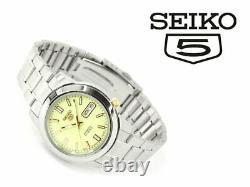 SEIKO 5 LumiBrite SNKK19 SNKK19J1 21 Jewels Automatic Japan Made 35mm Full Lume