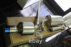 SRS Full Stainless Steel CATBACK EXHAUST 00-05 Toyota Celica GT/GTS BURNT TIP
