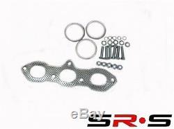 SRS Full Stainless Steel EXHAUST Header FOR 1998-2002 Honda ACCORD V6 3.0L JDM
