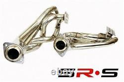 SRS Full T-304 Stainless Steel EXHAUST HEADERS FORD Mustang GT 96-04 V8 SOHC