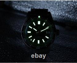 San Martin 62MAS Men Automatic Watches Fashion stainless steel diver Watch 20ATM