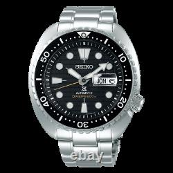 Seiko Prospex King Turtle Full SS 45 MM Automatic Black Dial Watch SRPE03K1
