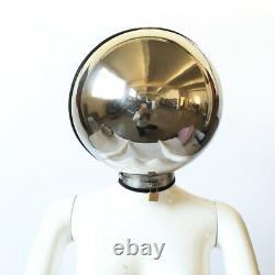Stainless Steel Bondage Ball Helmet Headgear Hood Full covered head hood