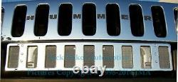 Stainless Steel Full Lower Grille 30x5.5 in for HUMMER H2 SUV & SUT Made In USA