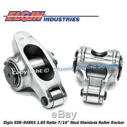 Stainless Steel Roller Rocker Arms 1.65 Ratio Fits Pontiac 350 400 428 455