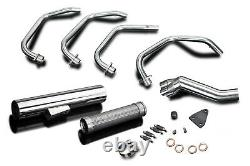 Suzuki GS1100G Delkevic Full 4-1 Stainless Steel Exhaust Cafe Race Muffler 82-84
