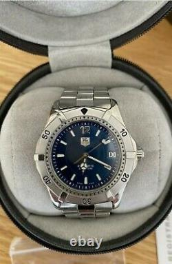 Tag Heuer 2000 Series Automatic WK2117-0 Mens Watch Full-size Box/paper Rare