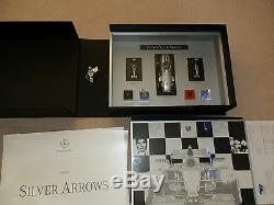 Tag Heuer F1 Mercedes Mclaren Limited Edition Silver Arrow Collectors Car Watch