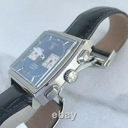 Tag Heuer Monaco Calibre 12 Blue Ref. Caw2111-0 Watch Box Papers Full Set