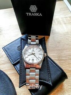Traska Commuter, full set hardly worn, Glacier White colour