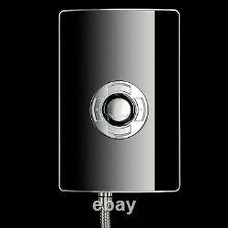 Triton Aspirante 9.5kW Electric Shower Black Gloss 5 Spray Pattern ASP09GSBLK