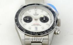Tudor Black Bay Chrono 79360N Chronograph Watch White Face (2021) Full Set
