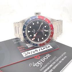Tudor Black Bay GMT Pepsi Automatic Watch (2020) Full Set