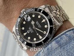 Tudor Submariner Prince Date Full Set 75190 Rolex vintage 1997 papers Watch Box