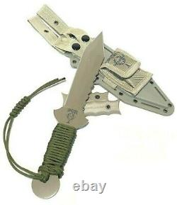 US GLADIUS DESERT LEGION XII GLADIATOR STYLE FIGHTING COMBAT KNIFE with SHEATH NEW