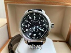 Very Rare Glashutte Original Senator Navigator Flyback Seconds Watch FULL SET