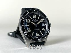 Very Rare Glashutte Original Spezialist SeaQ Stainless Steel Watch in FULL SET