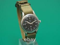 Vintage 1968 SMITHS W10 Military-issue Gents watch in Full Working Order