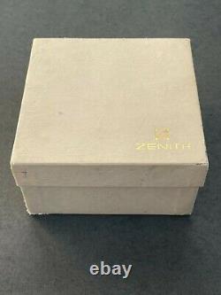 Vintage Zenith El Primero De Luca Chronograph watch 02.0310.400 FULL SET