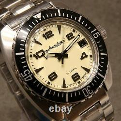 Vostok Amphibia'Full Lume Dial' Russian Auto Dive Watch, New, Boxed, UK seller
