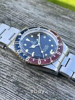 WMT Vintage Pepsi Bakelite Bezel Vintage Style Diver Watch Full Set Sold Out