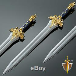 World of Warcraft King Stainless Steel Sword Delicacy 11 Prop Replica
