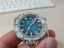 Zelos Horizons 39mm Teal 12HR Automatic Watch Full Set