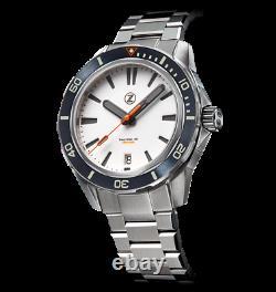 Zelos Swordfish Frost Full Lume 40mm Ss International Shipping Dealer