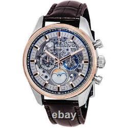 Zenith Chronomaster El Primero Grande Date Full Open Moon Phase Men's Watch