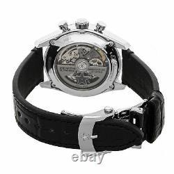 Zenith Chronomaster Full Open Auto Steel Mens Strap Watch 03.2153.400/78. C813