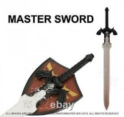 11 L'épée Maître De Lien Noir De La Légende De Zelda Avec La Plaque Nouveau