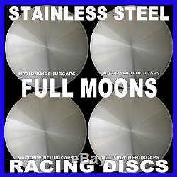 16 Full Moon Hot Rod Racing Disc-moyeux Enjoliveurs Solid Jantes Nouveau Jeu De 4